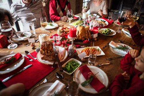 Christmas Dinner Knights of Pythias Retirement Center